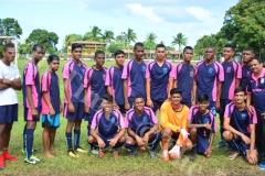 Gospel High School u19 soccer team at DAV College grounds yesterday. Picture: JONA KONATACI