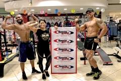 ICN Fiji Reprentative with athletes
