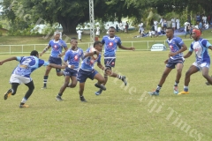Ba Provincial Freebird Instittute player Ratu Netava Nayacalevu attacks against Nasikawa Vision in the Fiji Secondary Schools Rugby West Zone under 19 semi-finals at Prince Charles Park in Nadi this afternoon.Pic.BALJEET SINGH