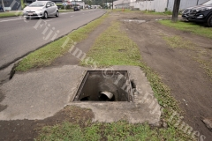The water man hole at Forster Road walubay needs a cover. Picture: RAMA