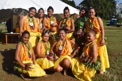 Lelean Memorial School students during the school's Diamond Jubilee cebration at the school ground in Nausori on Friday, July 06, 2018. Picture: SOPHIE RALULU