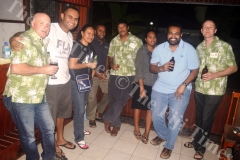 End of another visit members of the FOFH and Labasa Hospital staff celebrate in 2016. Picture LUKE RAWALAI