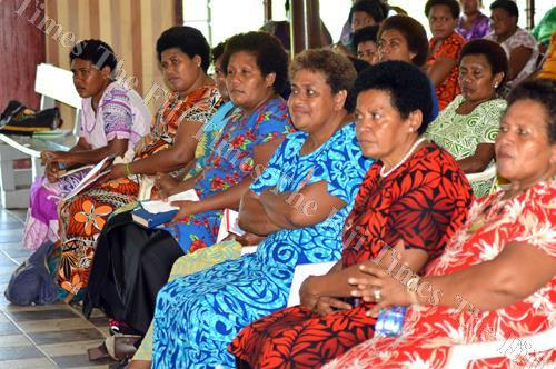 AOG women attend the Women's Fellowship Rally for the Macuata Division last week. Picture: LUKE RAWALAI
