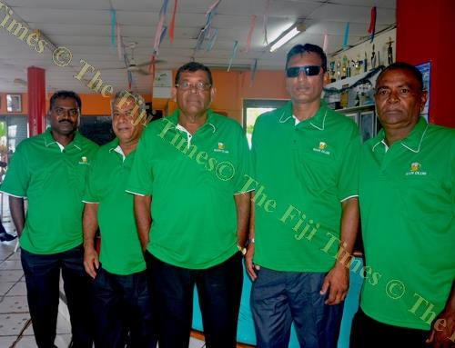 Team Nadi during the Phil's Autoport North West Billiard and Snooker Association league at Lautoka Club. Picture: BALJEET SINGH