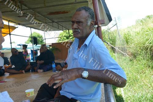 Tui Magodro Ratu Simione Vutevute in Nadi last week. Picture: BALJEET SINGH