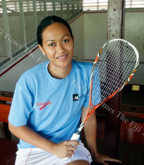 National squash player Alison Yee. Picture: Atu Rasea