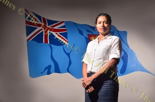 SODELPA provisional candidate Lynda Tabuya. SODELPA has included a public holiday in its manifesto for women on International Women's Day. Picture: JOVESA NAISUA