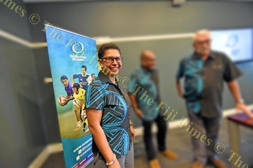 Cathy Wong after the announcement of her World Rugby Council membership at the Grand Pacific Hotel in Suva yesterday. Picture: RAMA