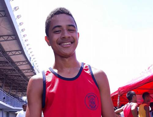 John Riccardo is a gold medal contender for Marist Brothers High School. Picture: Alisi Vucago