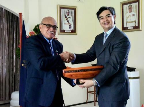French ambassador Sujiro Seam. Picture: SUPPLIED