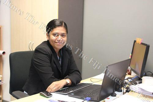 Fiji Roads Authority human resources officer Esiteri Vaubula. Picture: SUPPLIED.