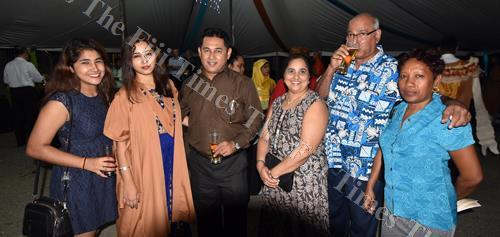 Jessica Solanki (2nd from left) with family members after the gold medal presentation during the USP graduation last week. Picture: RAMA