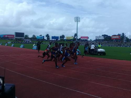 The boys from Lodoni are in leading the medal tally in the boys' division. Picture: TALEBULA KATE
