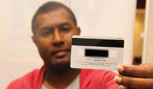 The new FNPF/FRCS joint card will carry the member's FNPF number. Picture: SUPPLIED