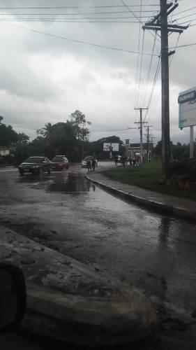 Nadi residents near Narewa have begun evacuating. Picture: Allan Newtown