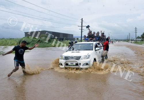 Please be extra alert when youre out driving in this cyclone weather. Picture: