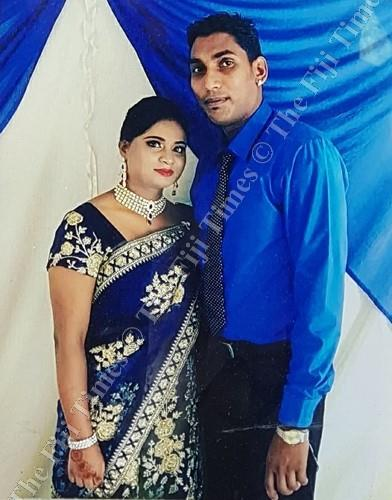 Sheenal Mudliar (deceased) and her husband Sandeep Mudliar. Picture: SUPPLIED
