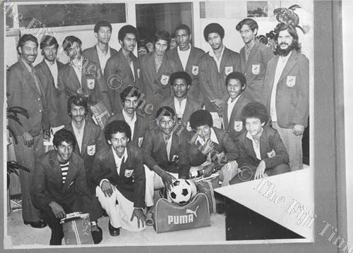 The development of the sport in Fiji improved immensely that resulted in a Fiji secondary schools football team that toured New Zealand in 1977. Picture: SUPPLIED
