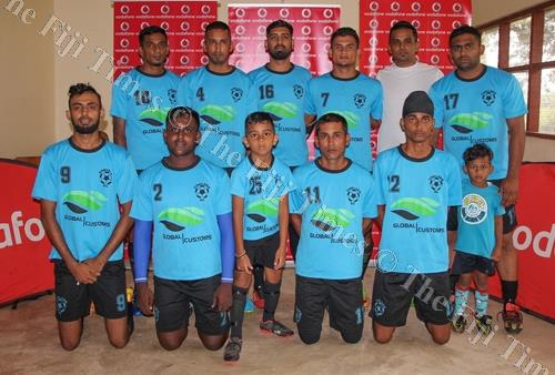Members of the Chelsea football team from Nasinu at the Vodafone Sikh IDC 2018 in Nadi. Picture: SUPPLIED