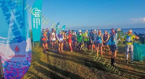 Participants of the ultra marathon at Togovere, Ra. Picture: SUPPLIED