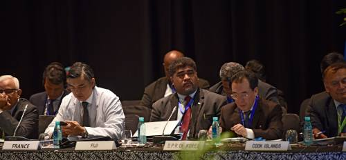 Participants at the 34th Session of Food and Agriculture Organisation Regional Conference (APRC) during the opening ceremony in Nadi. Picture: SUPPLIED