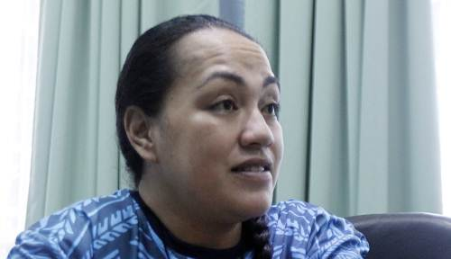Institute of Mission and Research project officer Moira Vilsoni-Raduva speaks to The Fiji Times today. Picture: ATU RASEA