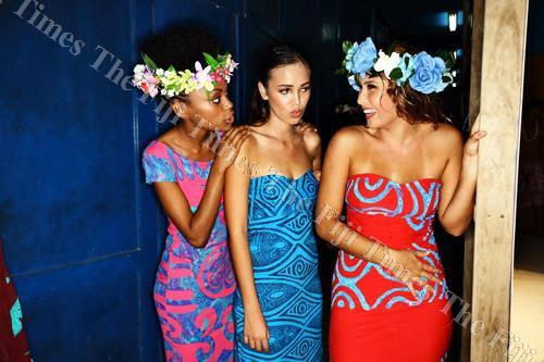 Fiji Fashion Week models in resort wear during the FJFW in 2016. Picture: FOTOFUSION/SUPPLIED
