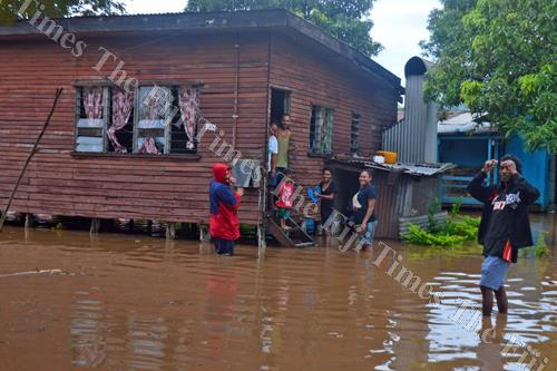 The Fiji National Provident Fund (FNPF) has paid out 701 applications to date to its members living in flood affected areas totaling $572, 000. Picture: LUKE RAWALAI