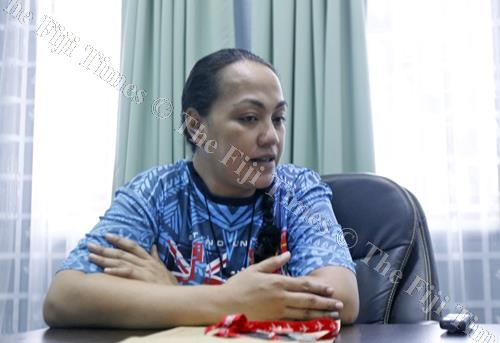 Institute for Mission and Research (IMR) at the Pacific Theological College (PTC) project officer Moira Visloni-Raduva during an interview in Suva. Picture: ATU RASEA