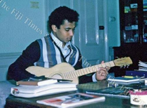 Inoke Baravilala at Methodist House in London 1996. Picture: SUPPLIED