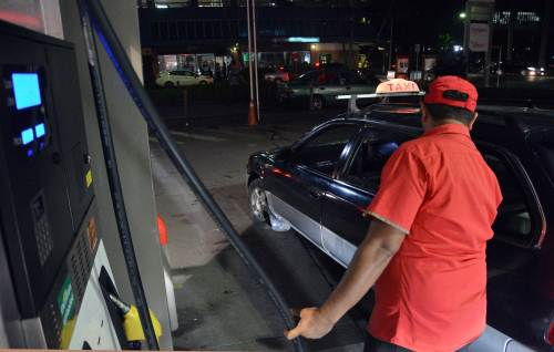 The price of fuel goes up effective midnight tonight.