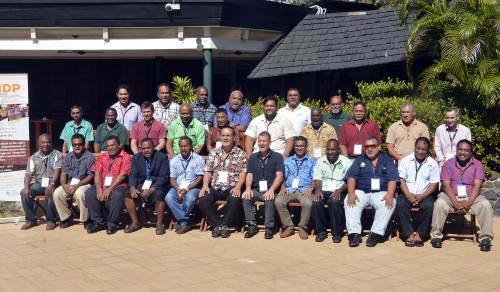 Participants at a regional training workshop on coconut production and seeds systems. Picture: BALJEET SINGH