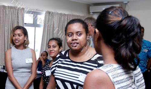 Participants at the International Institute for Democracy and Electoral Assistance workshop at the Tanoa Plaza Hotel in Suva yesterday. Picture: ATU RASEA