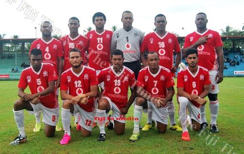 The Rewa football team at an earlier tournament. Picture: SUPPLIED