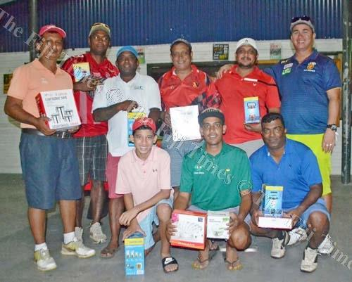 Lautoka Golf Club prizewinners with their spoils after the tournament last Saturday. Picture: SUPPLIED
