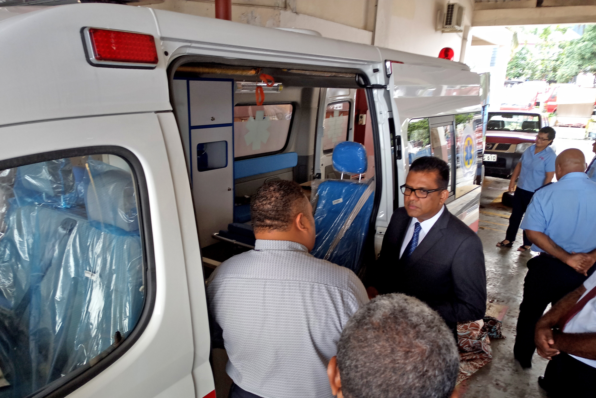 The Fiji Times » Savusavu fire service receives new ambulance