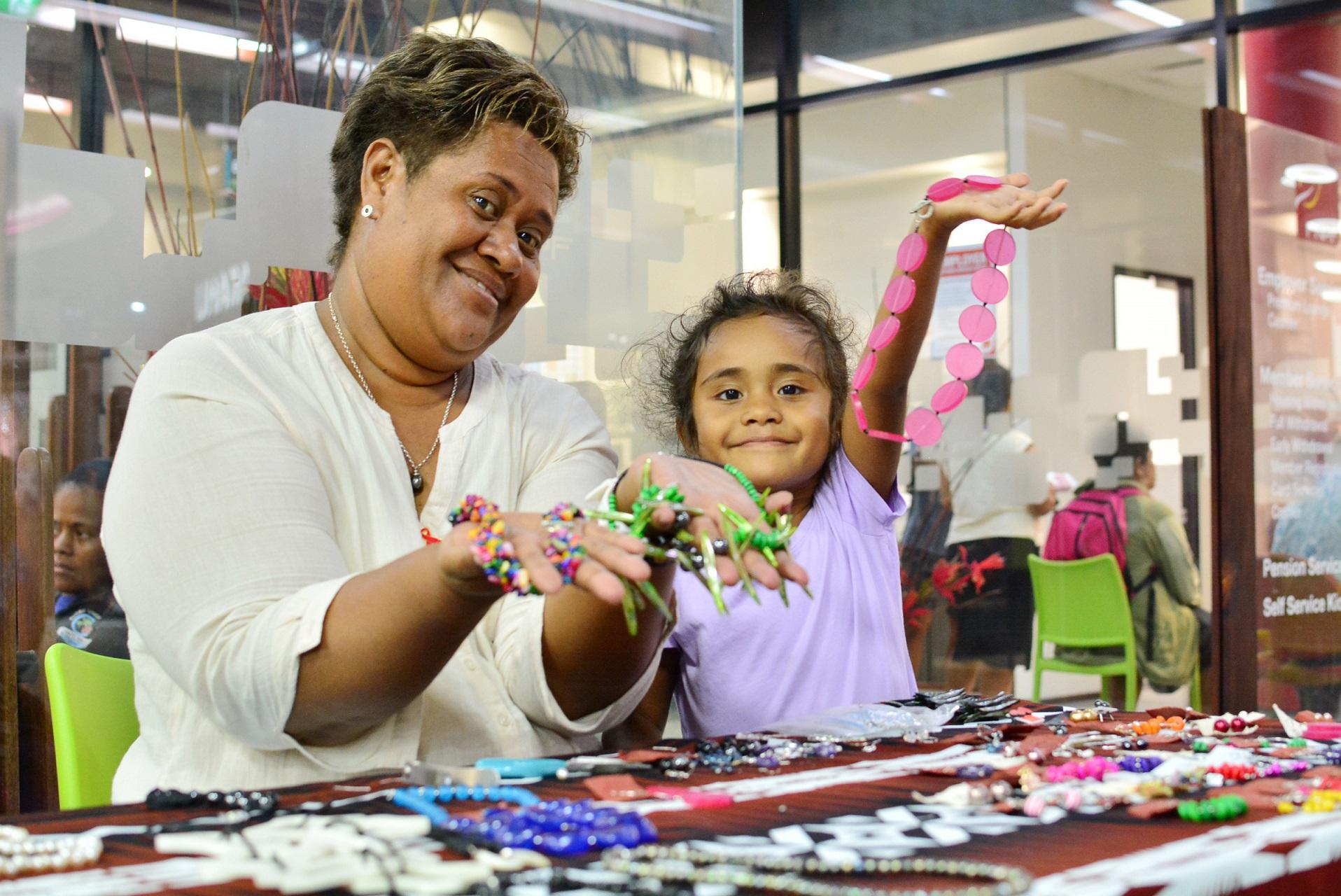 The Fiji Times Fnpf Holds Handicraft Exhibition For Rural Women